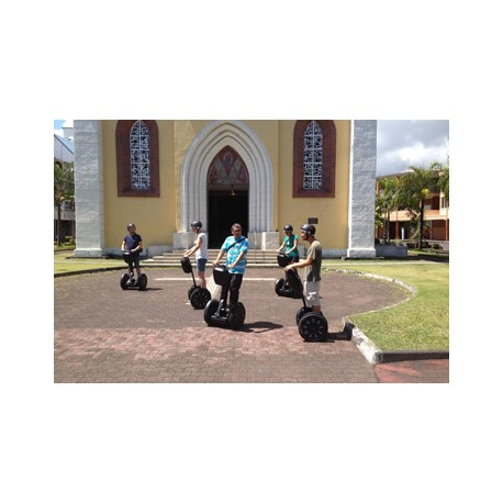 Découvrez la ville de Papeete en Segway