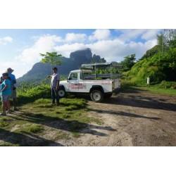 Tour de 4x4 à Bora Bora