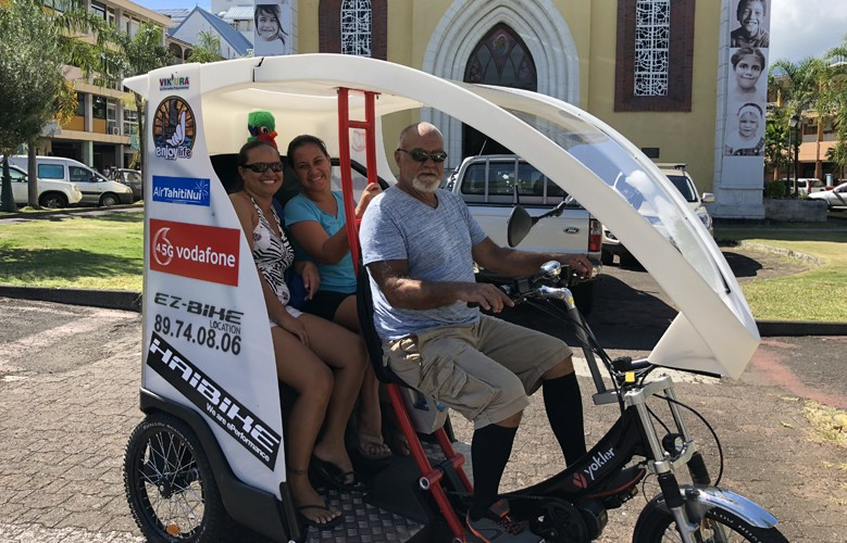 Discover Papeete by Electric Tuk-Tuk