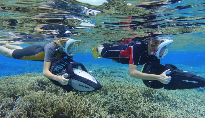Moorea Seascooter Tour