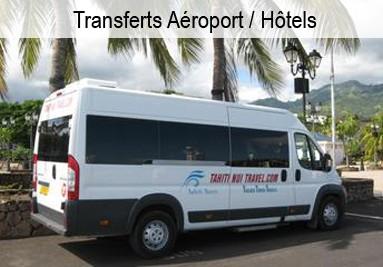 Transferts et Transports en Polynésie Française
